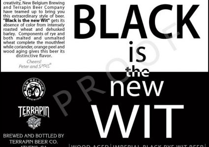 Terrapin Beer Co. / New Belgium Brewing - Black is the new Wit