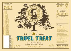 Adelbert's Brewery Tripel Treat