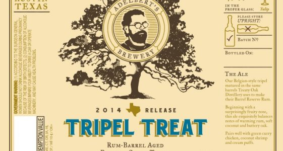 Adelbert's Brewery Tripel Treat