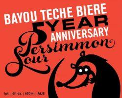 Bayou Teche - 5th Anniversary Persimmon Sour