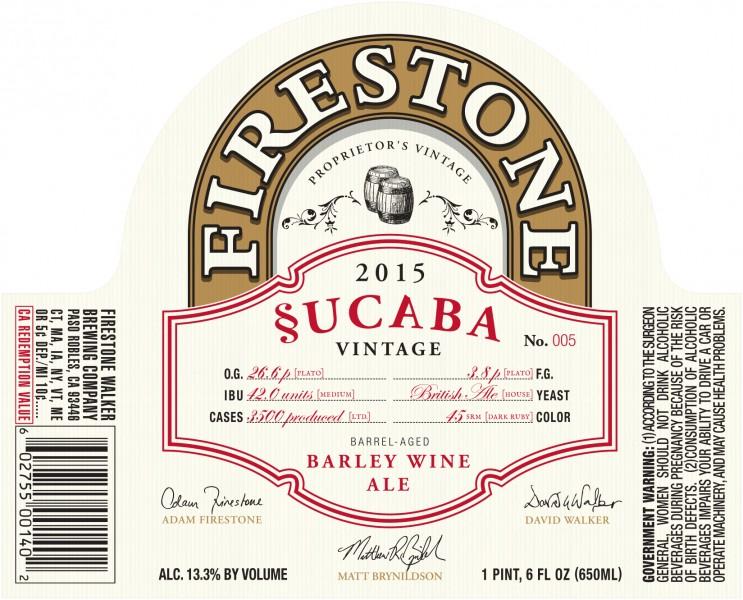 Firestone Walker - Sucuba_2015 (22oz Label)