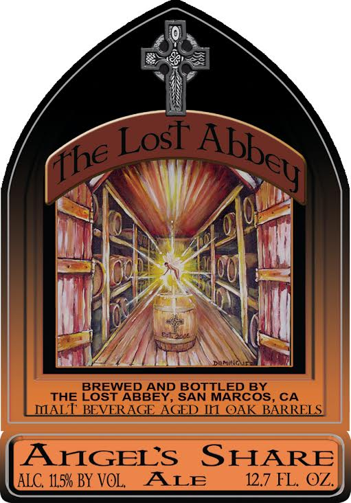 The Lost Abbey - Brandy Barrel Aged Angel's Share