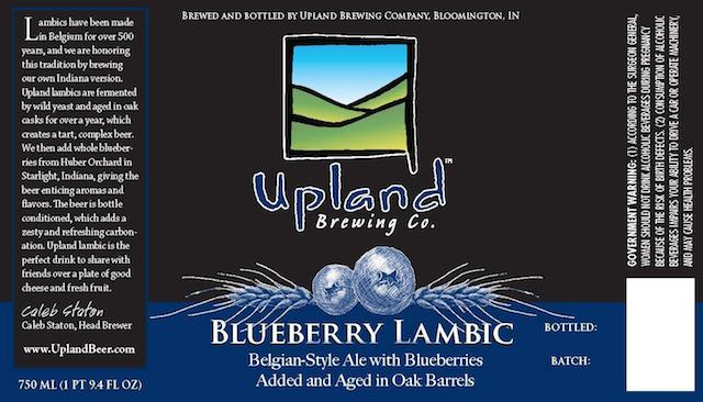 Upland Blueberry Lambic