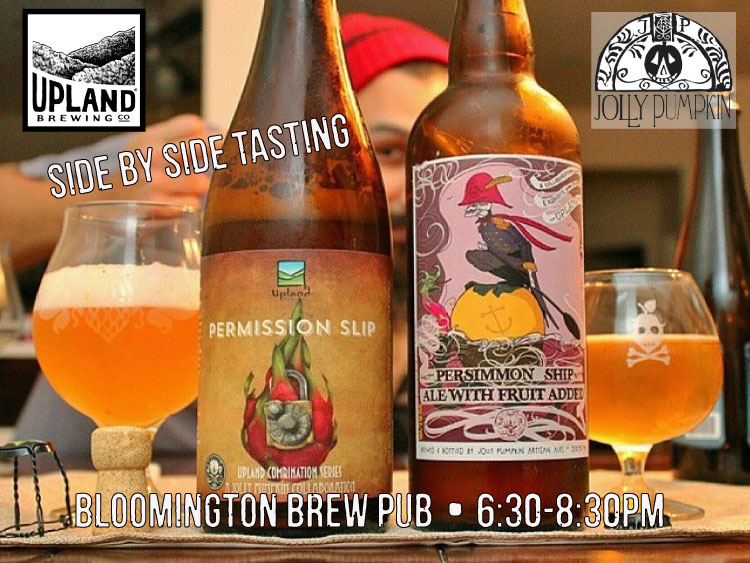 Upland Jolly Pumpkin Collab Party