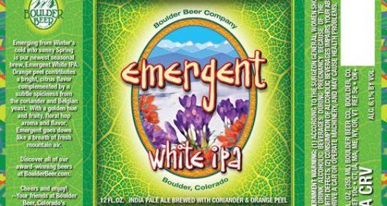 Boulder Emergent White IPA