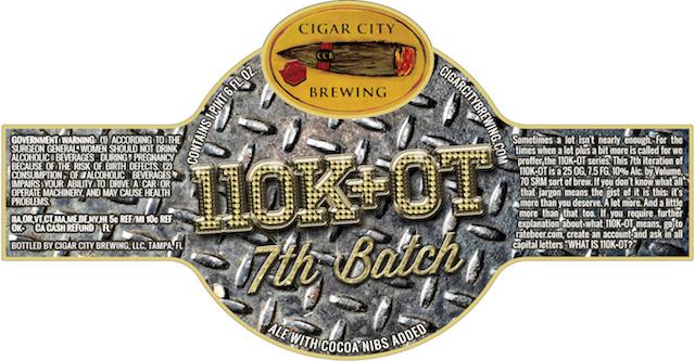 Cigar City 110K OT Batch 7