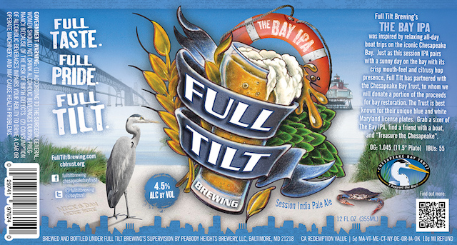 Full Tilt The Bay IPA