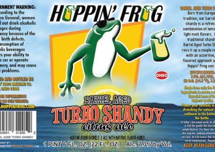 Hoppin Frog Barrel Aged Turbo Shandy