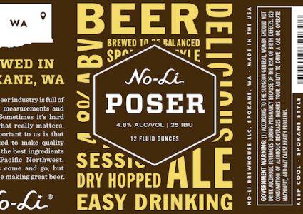 No-Li Poser Label
