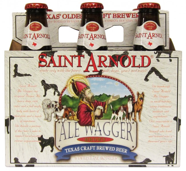 Saint Arnold Brewing - Ale Wagger Brown (6 pack)