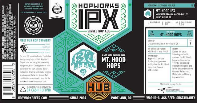 Hopworks IPX Mt Hood