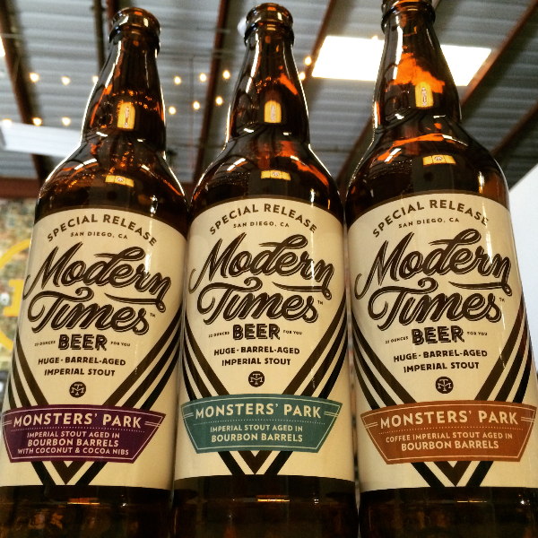 Modern Times Barrel Aged Monsters' Park