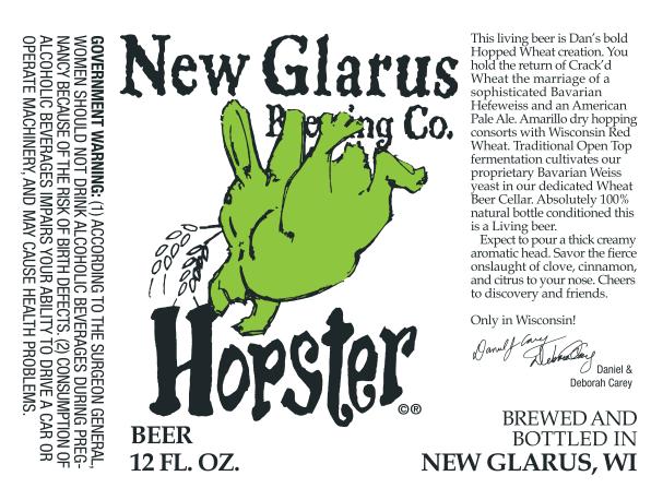 New Glarus Hopster
