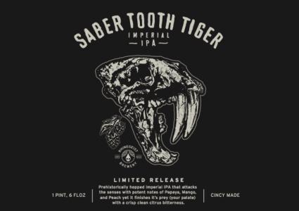 Rhinegeist Brewery - Saber Tooth Tiger