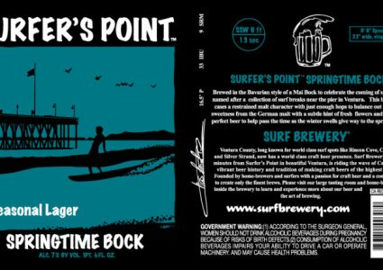 Surf Brewing Surfers Point Springtime Bock