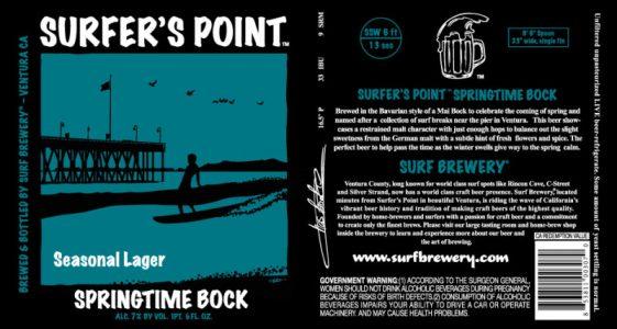 Surf Brewing Surfers Point Springtime Bock