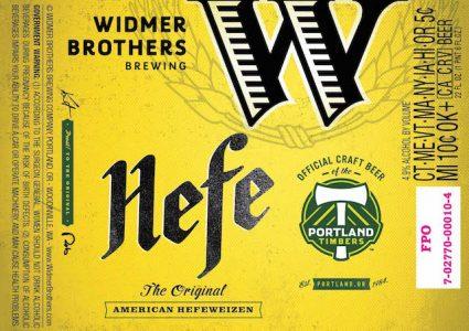 Widmer Hefe Portland Timbers