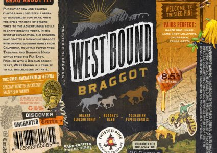 Twisted Pine Brewing - West Bound Braggot