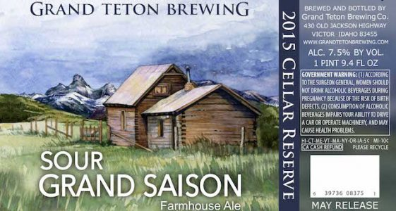 Grand Teton Sour Grand Saison