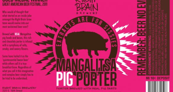 Right Brain Mangalista Pig Porter