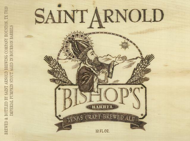 Saint Arnold Bishops Barrel No. 9