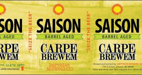 Empyrean Brewing - Carpe Brewem Saison