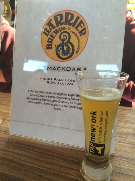 Recap 2015 tap new york craft beer and food festival for New york craft breweries