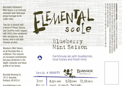 Burnside Brewing Elemental Scale