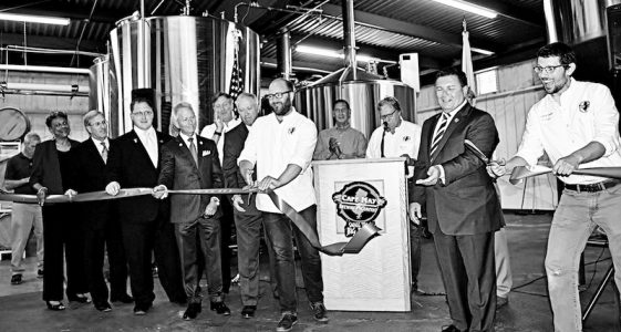 Cape May Brewing Expansion Ribbon