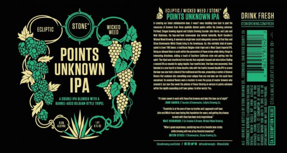 Ecliptic Stone Wicked Weed Points Unknown IPA