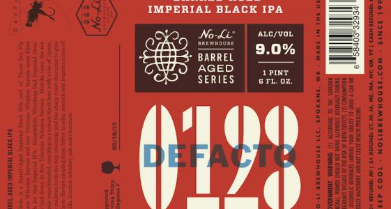 No-Li Defacto Imperial Black IPA