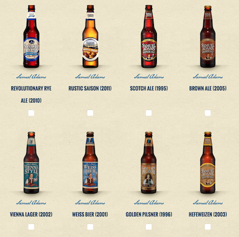 Samuel adams wants you to vote to bring back beers from for Take craft beer back