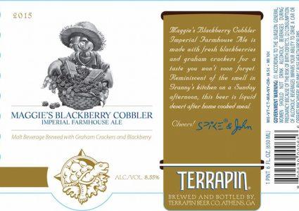 Terrapin Maggies Blackberry Cobbler
