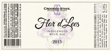 Crooked Stave Flor d lees 2015