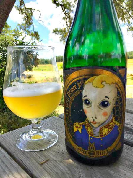 Jester King Petite Prince Green Bottle