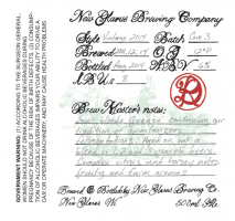 New Glarus R-DVintage 2014
