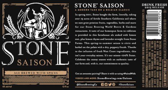 Stone Saison 2015