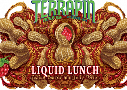 Terrapin Beer Co. - Liquid Lunch Peanut Butter and Jelly Porter
