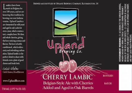 Upland Cherry Lambic