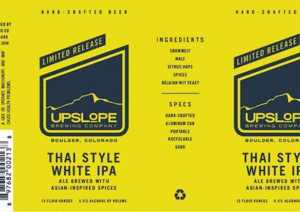 Upslope Thai Style White IPA