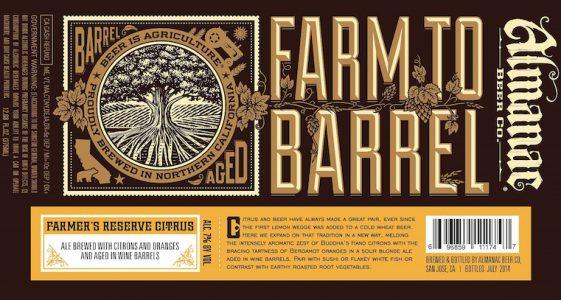 Almanac Farmers Reserve Citrus