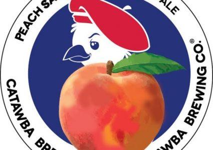 Catawba Brewing Peach Saison Farmhouse Ale