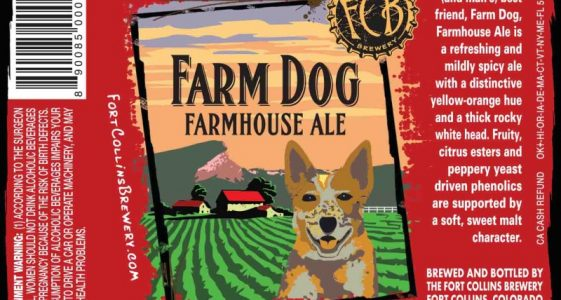 The Fort Collins Brewery - Farm Dog, Farmhouse Ale