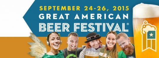 Great American Beer Festival 2015 Banner