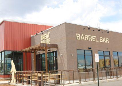 Great Divide Brewing Barrel Bar