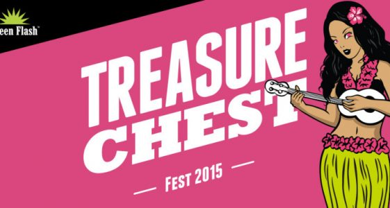 Green Flash Treasure Chest Fest 2015