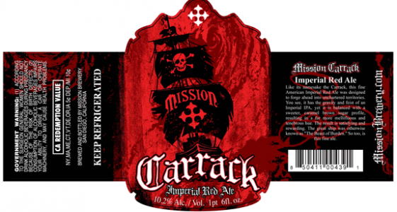 Mission Brewery - Carrack Imperial Red Ale