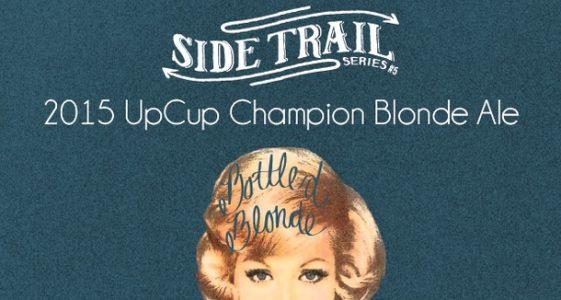 Upland Brewing Side Trail Bottled Blonde