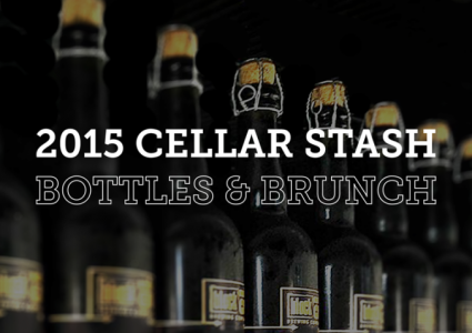 Block 15 Cellar Stash Bottles and Brunch