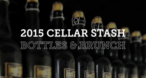 Block 15 Cellar Stash Bottles and Brunch